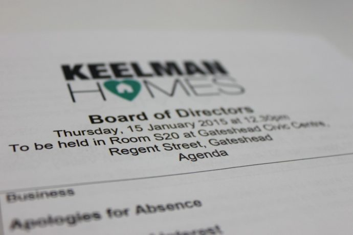 Keelman Homes Board