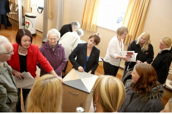 A recent event brought Kibblesworth's residents together to view future plans for their new homes and neighbourhood..