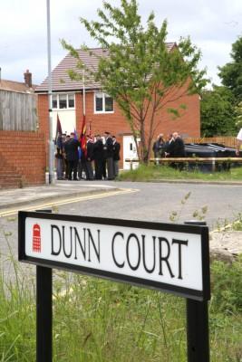 Dunn Court sign