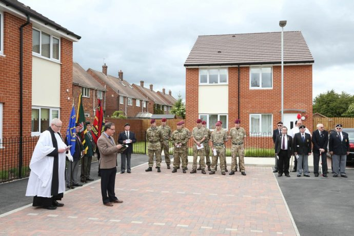 The mother of a soldier killed on active service in Afganistan in 2010 has formally unveiled a plaque commemorating her son – guaranteeing that his name will live on for years to come.